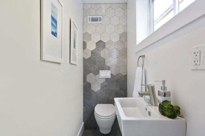 10 идей, как можно декорировать стену над унитазом
