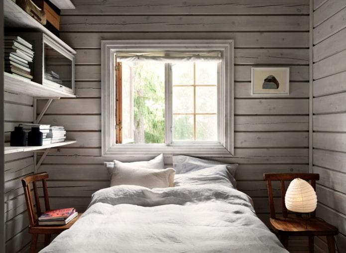 маленькая спальня на даче
