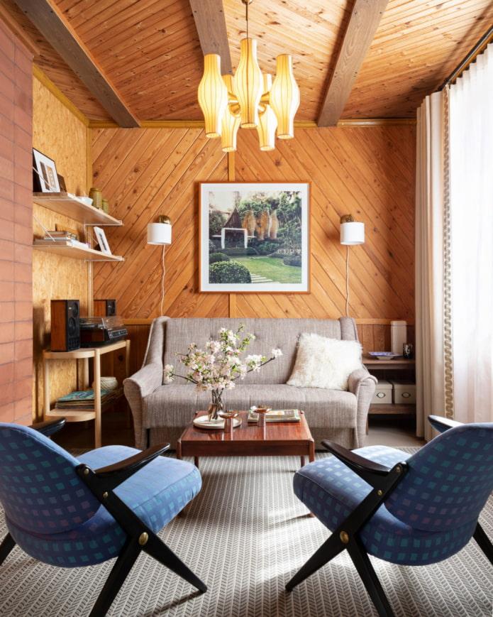 традиционный дизайн гостиной