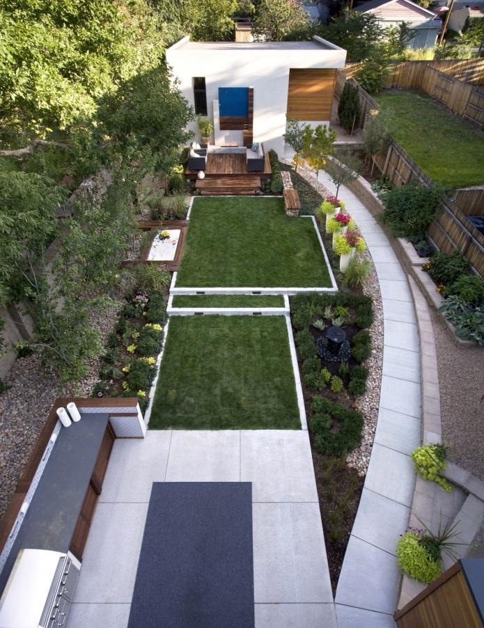 графичный дизайн сада