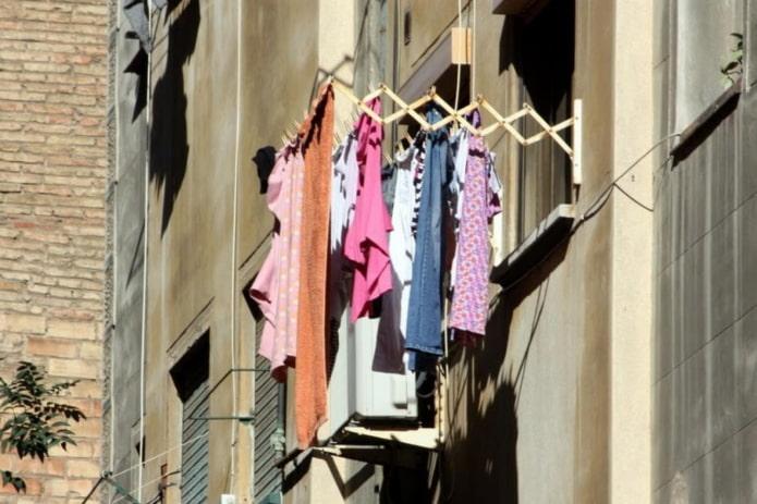 10 примеров сушки белья в квартире без балкона