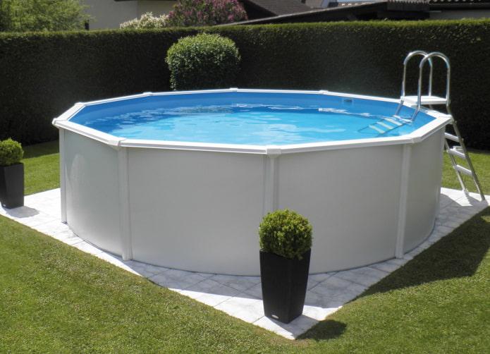 летний бассейн на даче