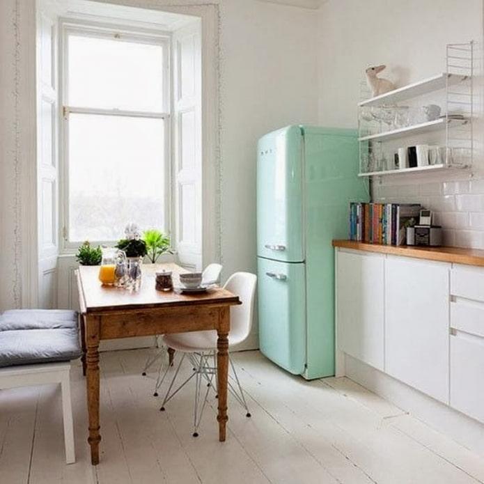 мятный холодильник