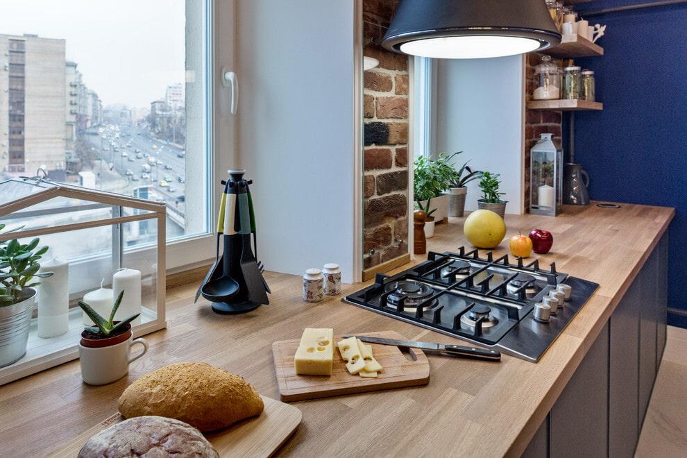 Деревянная столешница для кухни: 33 фото, идеи дизайна, плюсы и минусы