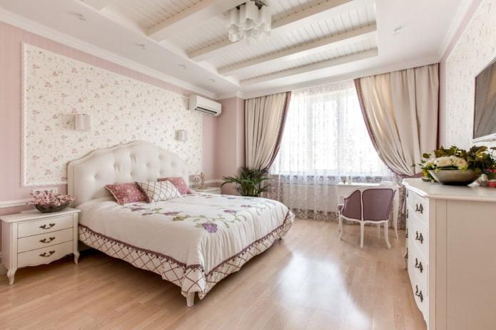 Прованс в спальне