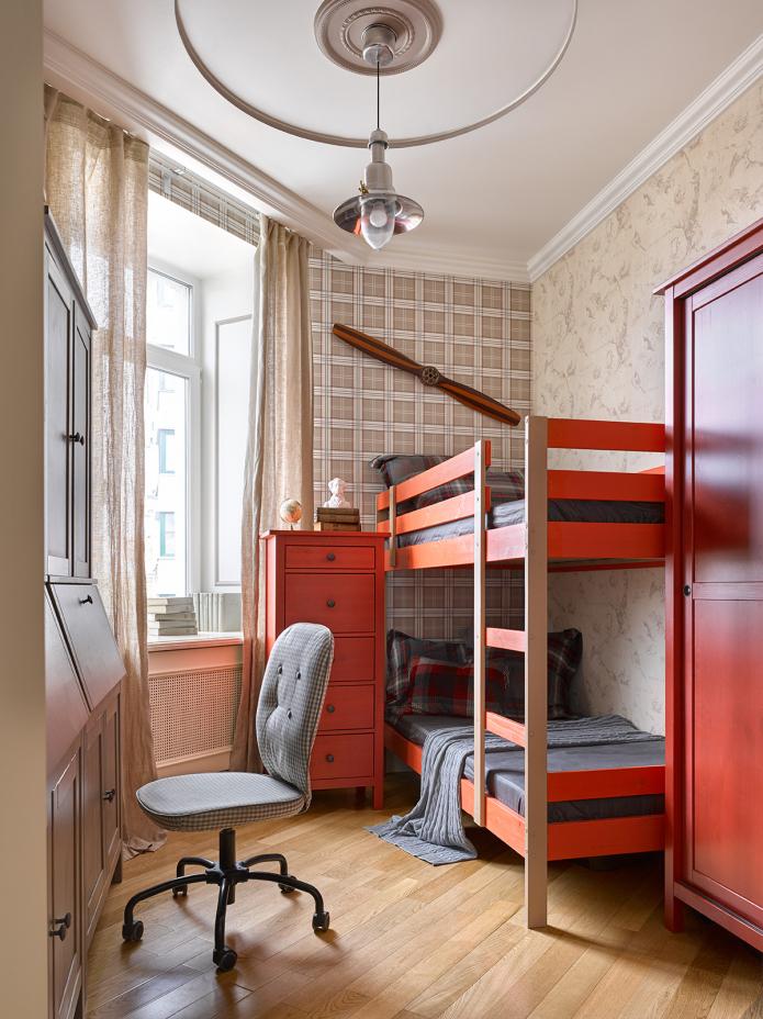 Узкая детская комната (38 фото): расстановка мебели и идеи дизайна