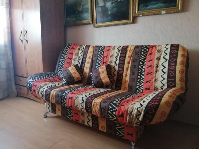 диван в кабинете