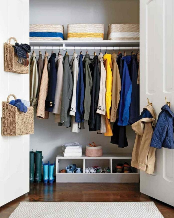 Маленькая гардеробная: 5 лучших планировок советы по организации