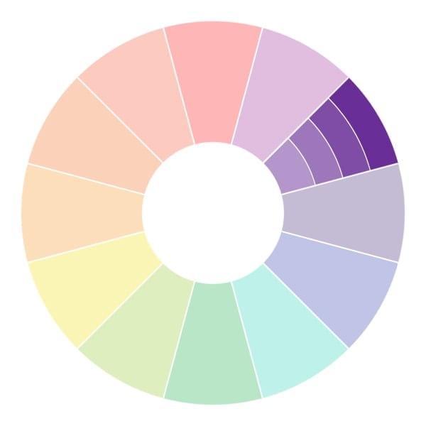 Сочетание цветов в интерьере: таблица и правила (43 фото)