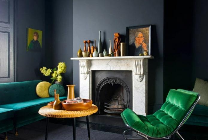 Черный цвет в интерьере (49 фото): сочетания, психология, идеи дизайна