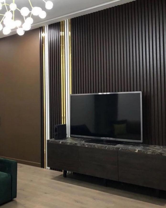 Цвет венге в интерьере (65 фото) – сочетания, оттенки и мебель