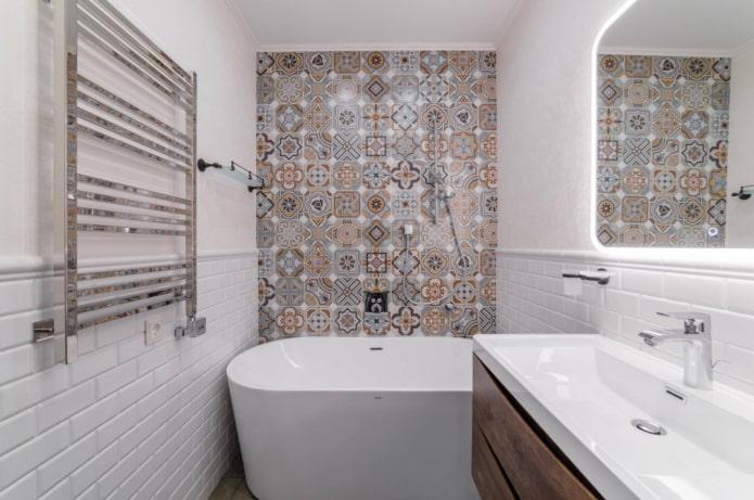 восточная плитка в ванной