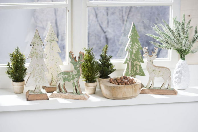 10 оригинальных идей для украшения окна на Новый Год