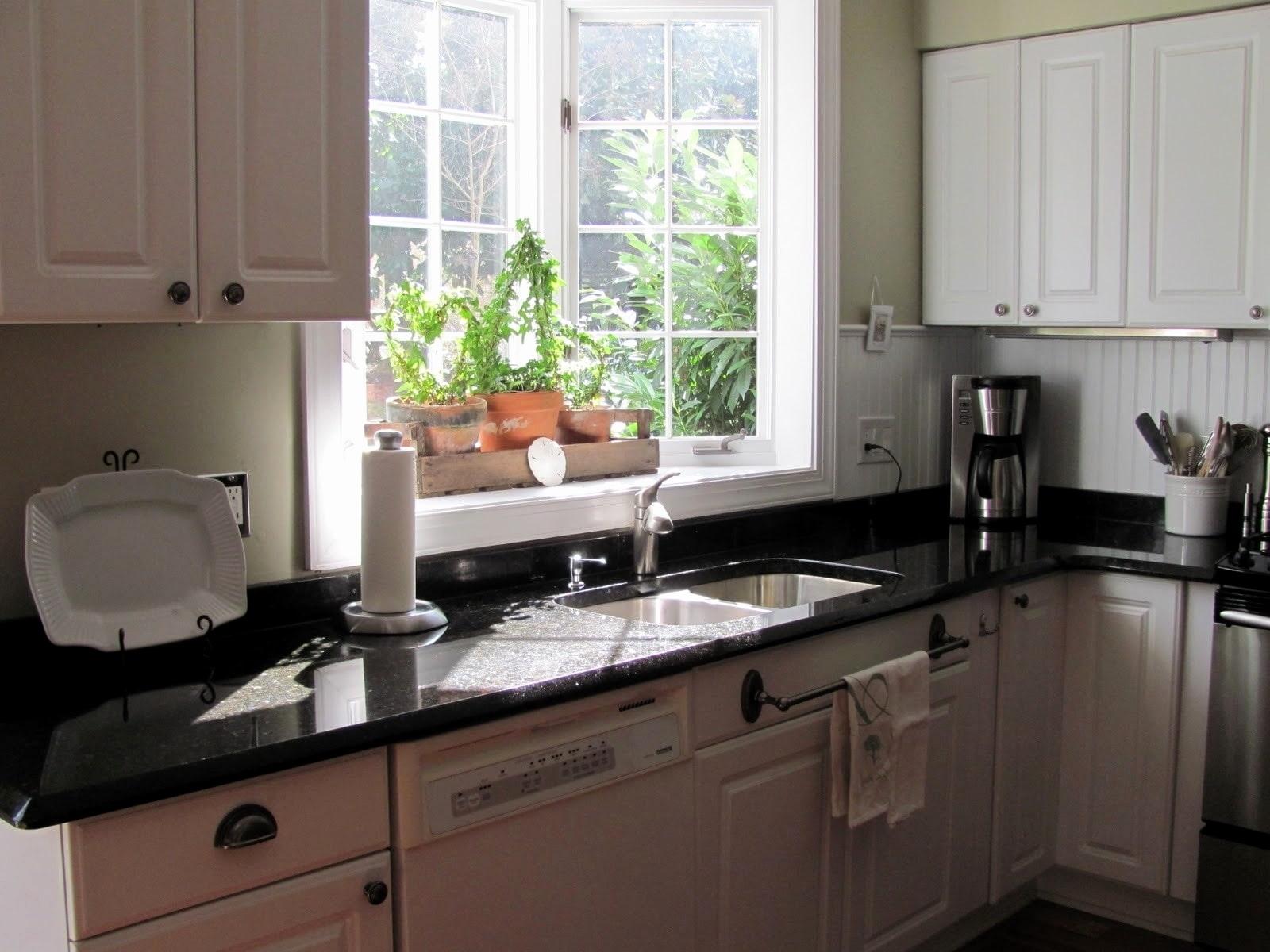 окно с эркером на кухне