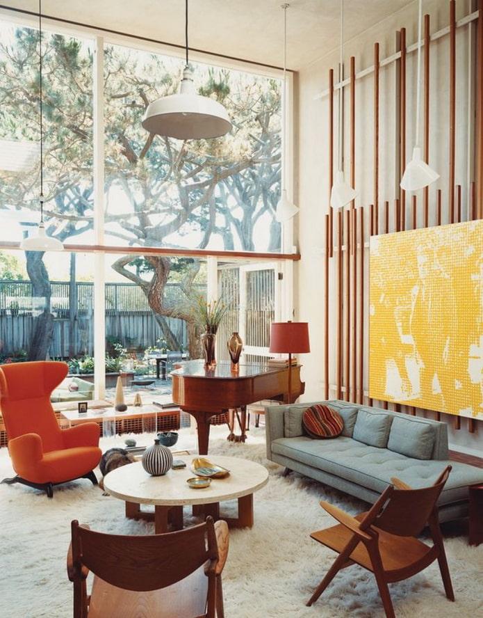 Как оформить интерьер в стиле ретро? (45 фото) – особенности и примеры дизайна