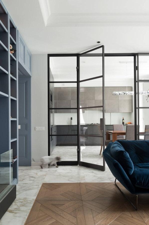 Стеклянные перегородки в интерьере (34 фото) – плюсы, минусы и варианты дизайна