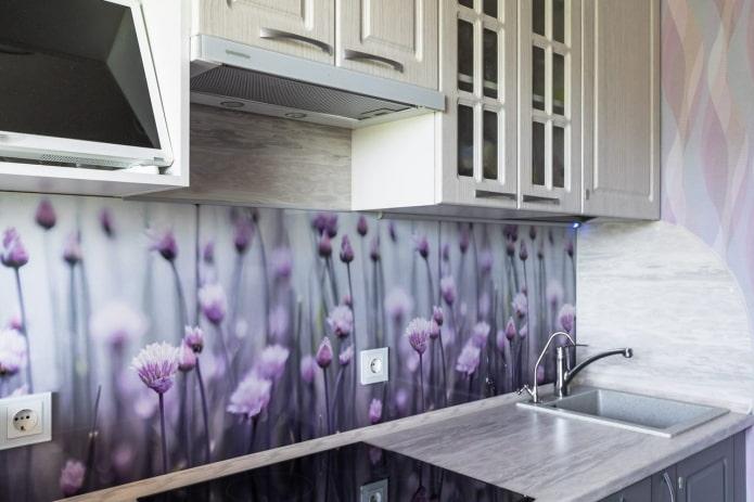 панели с фотопечатью для кухни