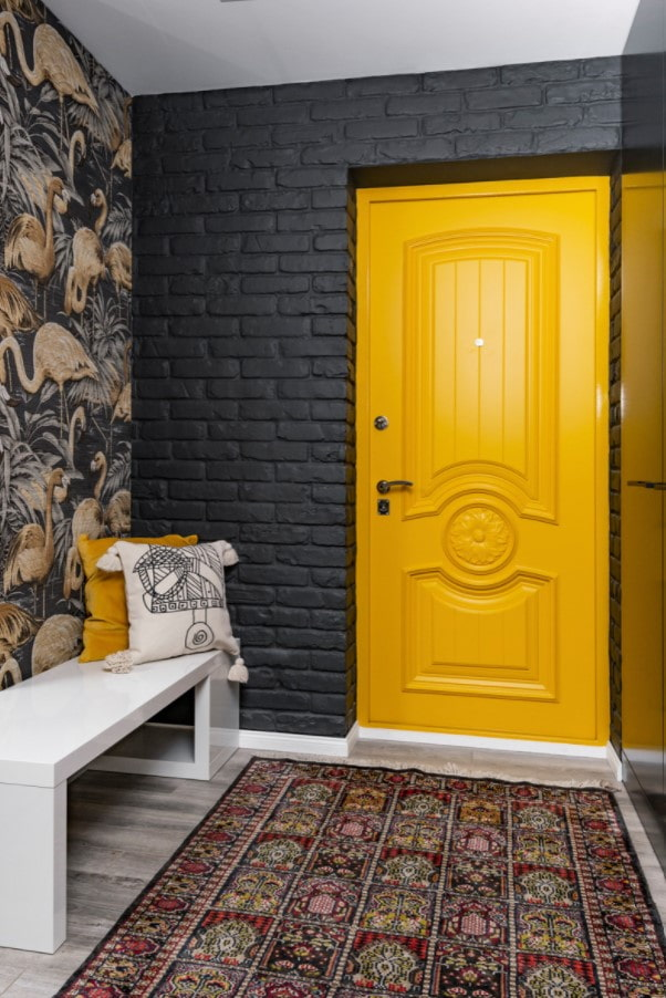 кирпичные откосы двери