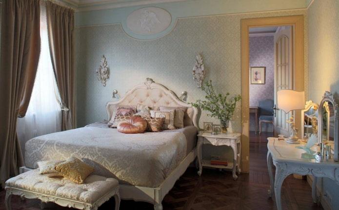спальня в стиле ар деко