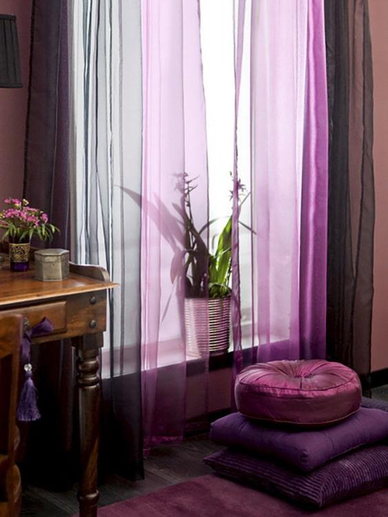 Как красиво повесить тюль? – 7 примеров для быстрого преображения любой комнаты