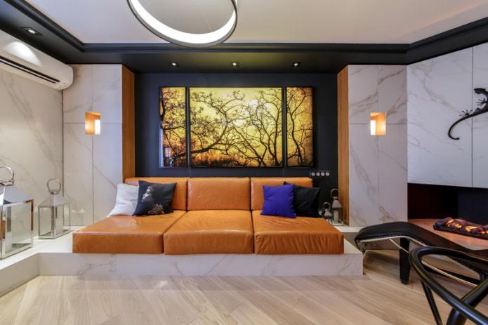 диван-подиум