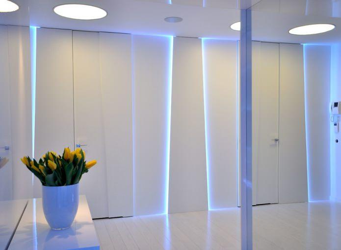 шкаф с светодиодной подсветкой