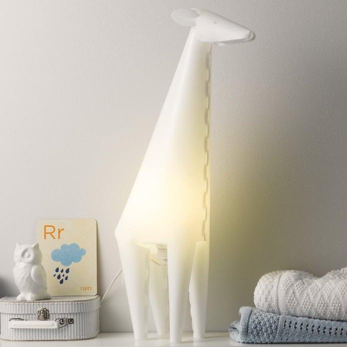 Торшер-ночник в виде жирафа
