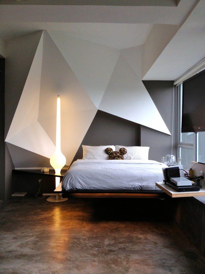 светильник в спальне