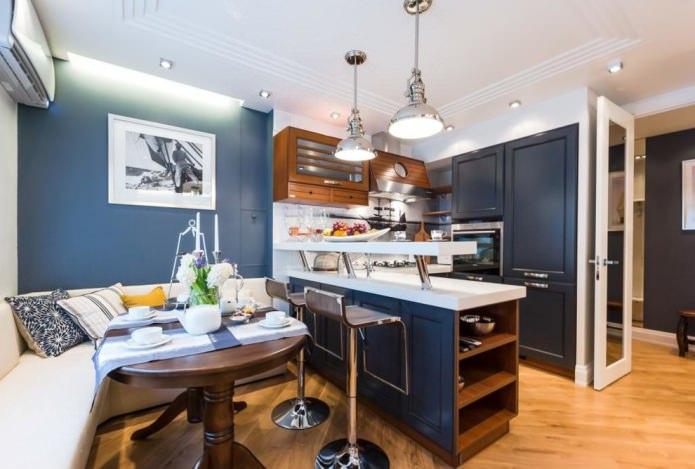 Какие бывают стили кухни: фото, описание и особенности - 65