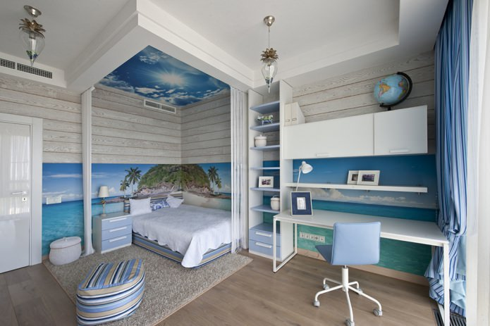 Оформление интерьера в морском стиле: 80 вдохновляющих фото и идей дизайна