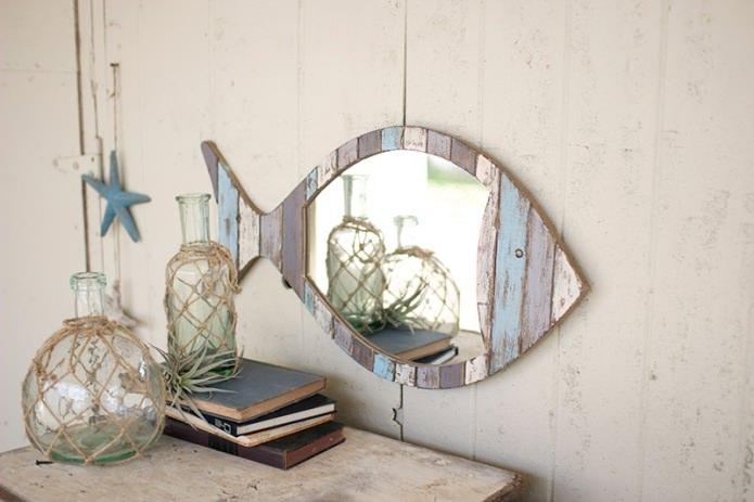 зеркало-рыбка