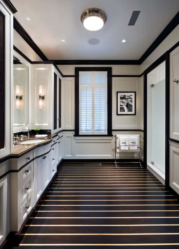 Черный пол в интерьере (70 фото) идеи, дизайн, сочетания цвета