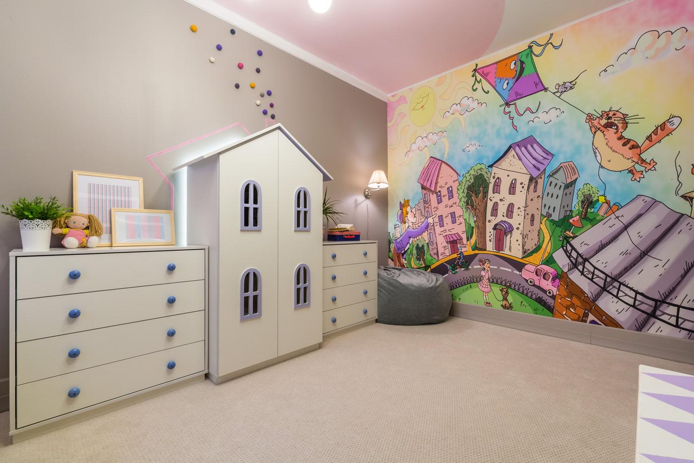 Картинки обоев для детской комнаты