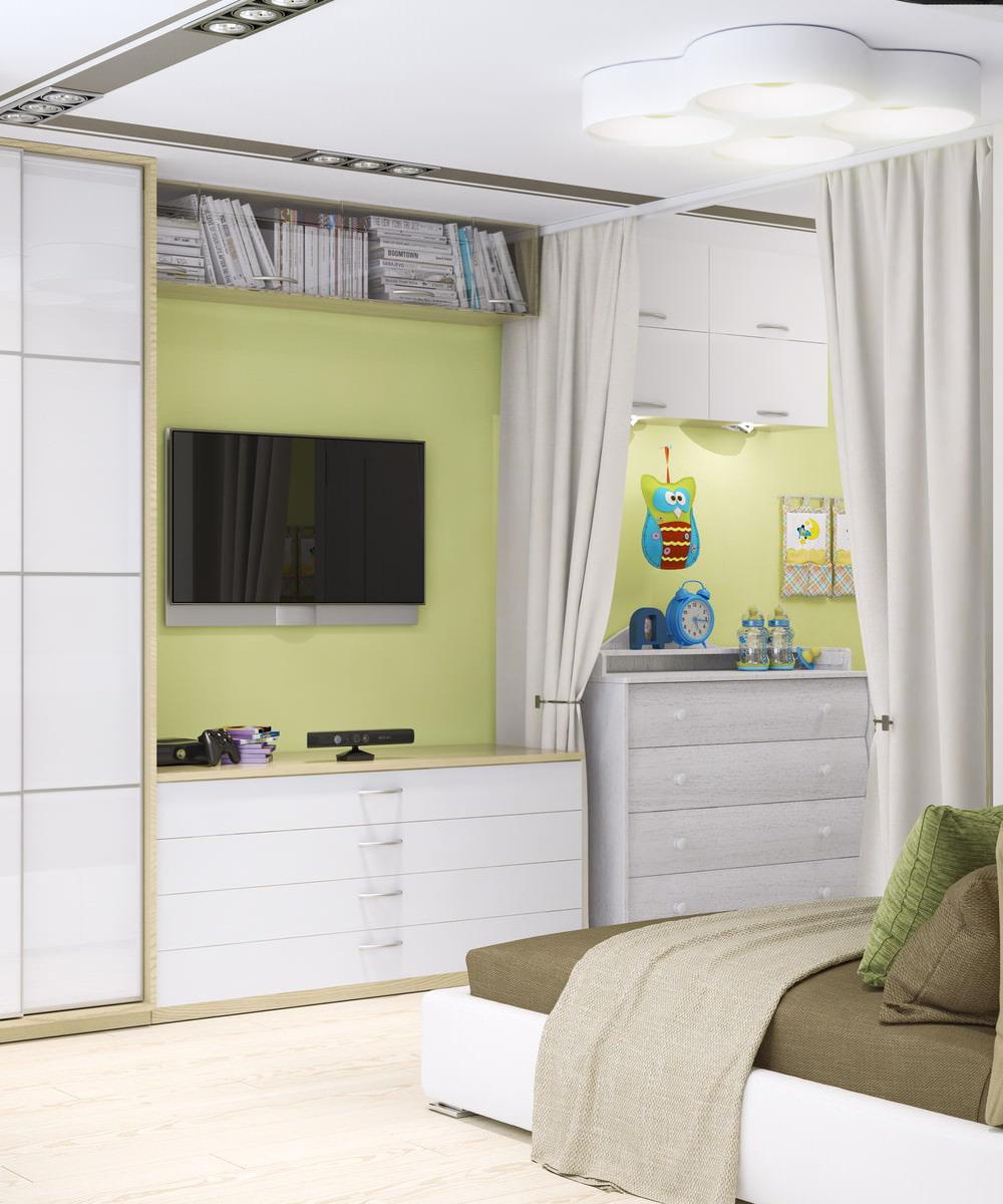 Дизайн однокомнатной квартиры в современном стиле фото