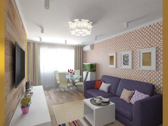 интерьер 2-комнатной квартиры-хрущевки