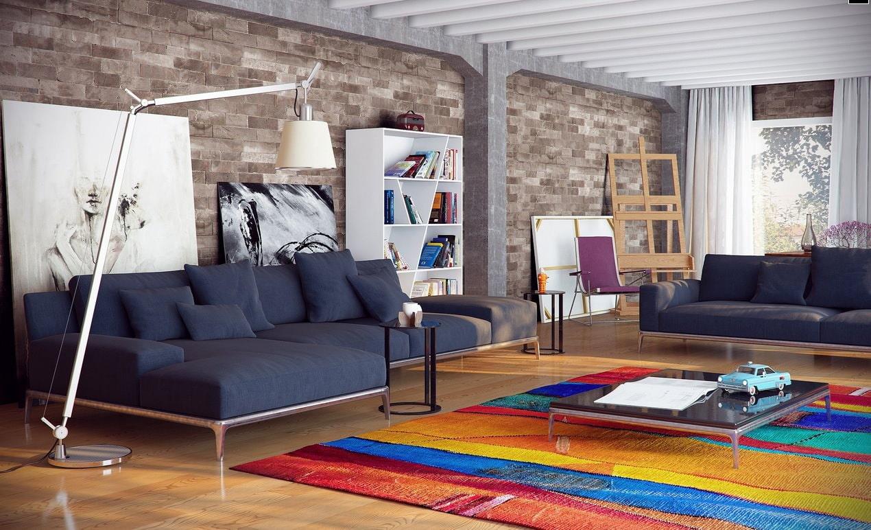 Дизайн стен в гостиной фото 2017 современные