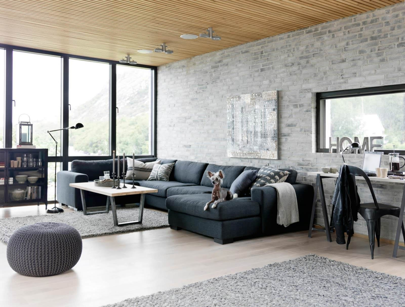 Enchanting Living Room Brick Wall - plusarquitectura.info