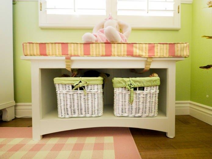 корзины для хранения игрушек в детской