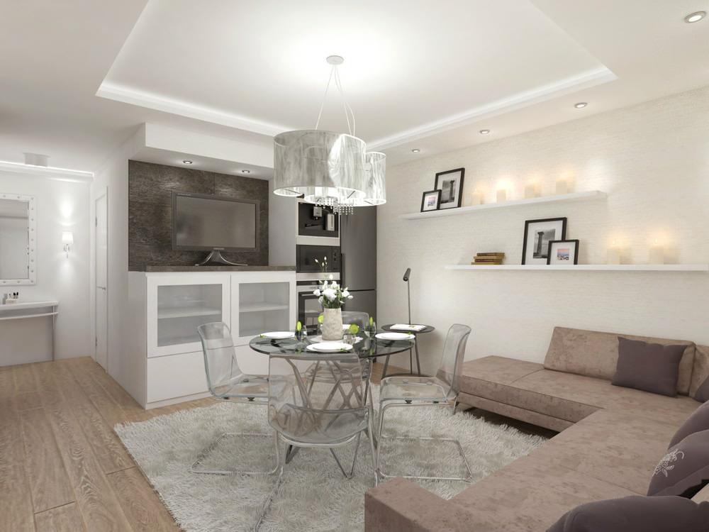 Дизайн 3 х комнатной квартиры 60 кв.м