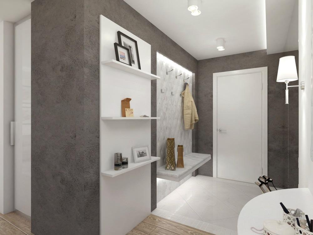Дизайн трехкомнатной квартиры 60 кв.м фото