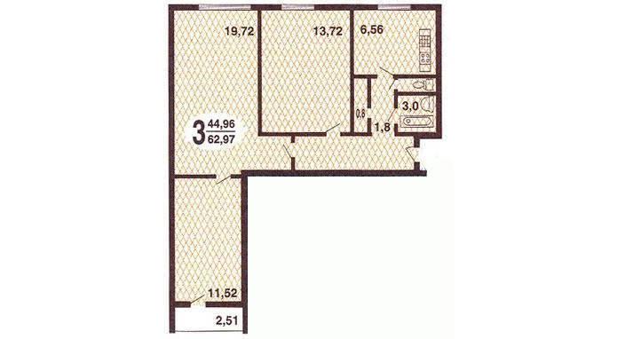 Проект дизайна интерьера деревянного дома 148