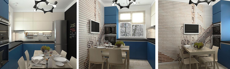 дизайн кухни 7.5 кв м в панельном доме фото