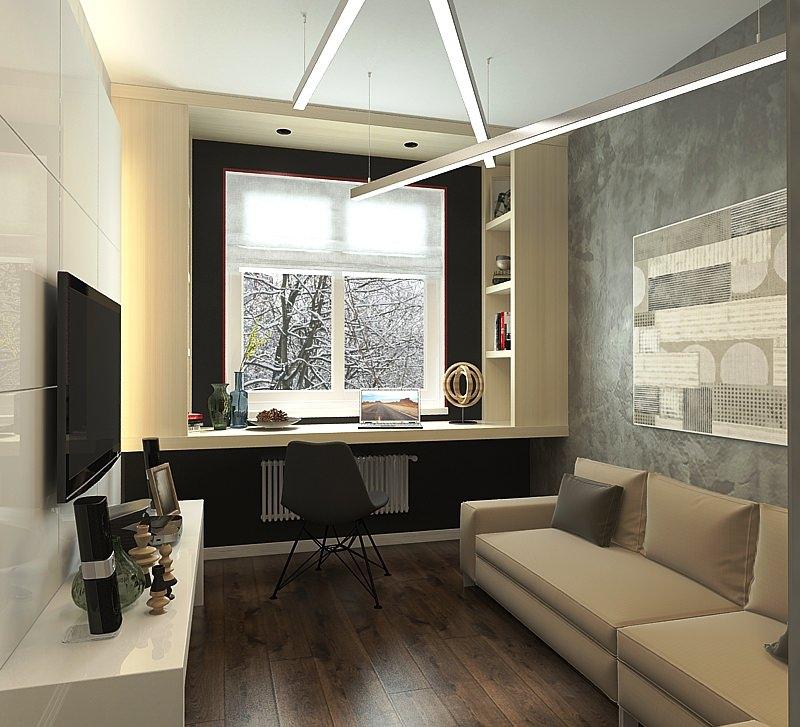 Дизайн интерьера 3-комнатной квартиры фото