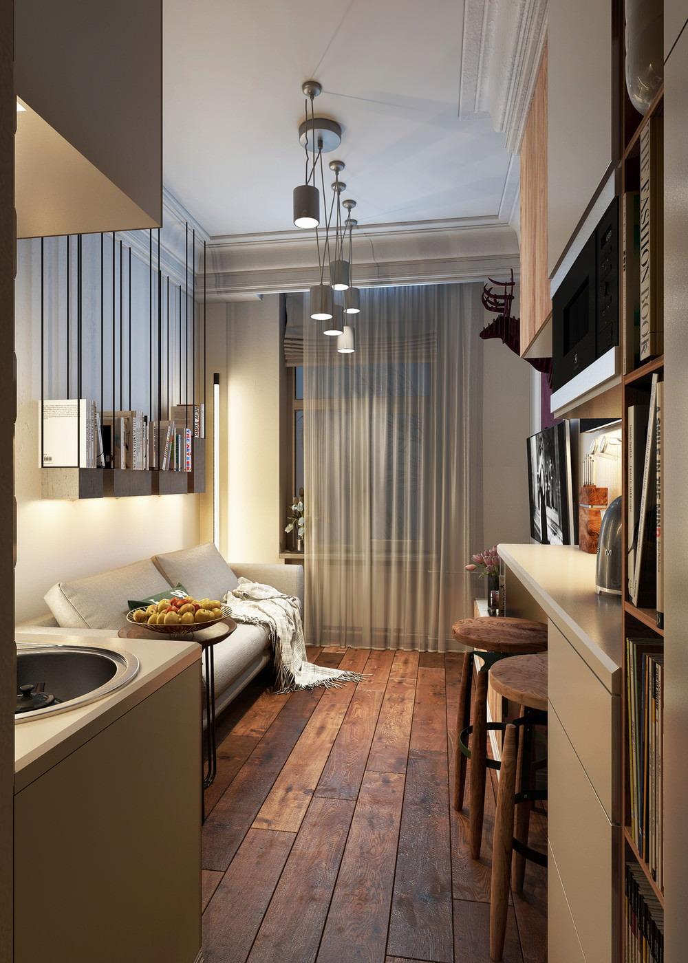 Дизайн комнаты 15 кв.м.фото
