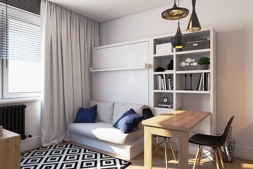 Обычный дизайн спальни