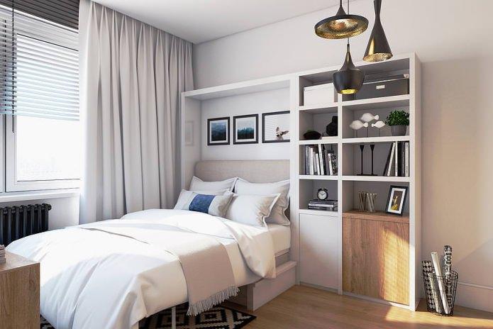 Современный дизайн маленькой квартиры 19 кв. м.