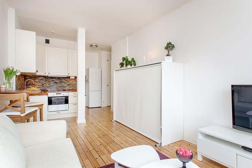 Дизайн квартиры 28 кв м