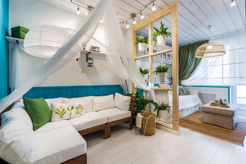 Крутые дизайн комнаты 18 кв