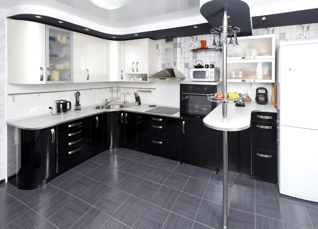 Дизайн кухонного углового гарнитура