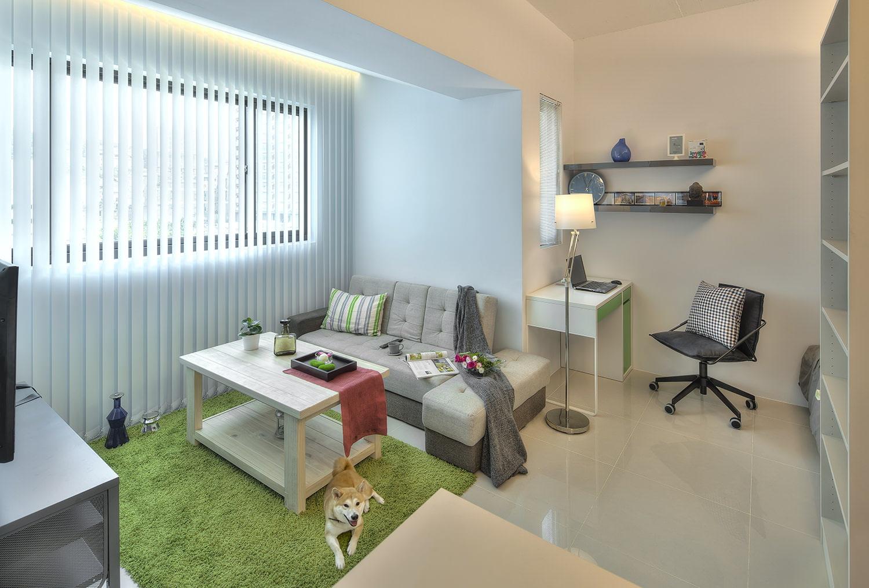 32 for Bedsitter interior design
